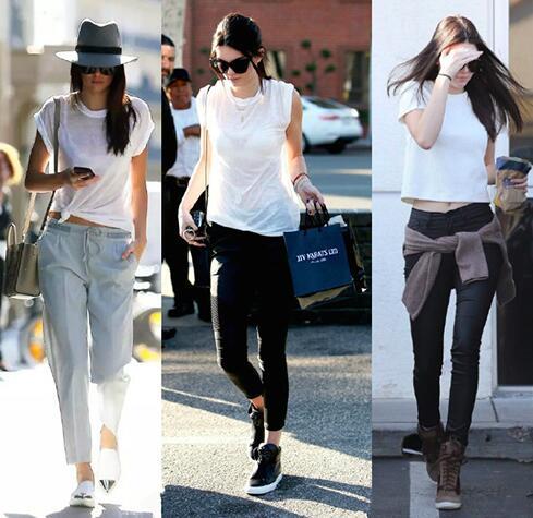 学会搭白色T恤,你就会觉得它不再单调
