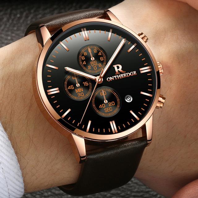 专属精品商务男士的手表,快看看你的手表上榜了吗?